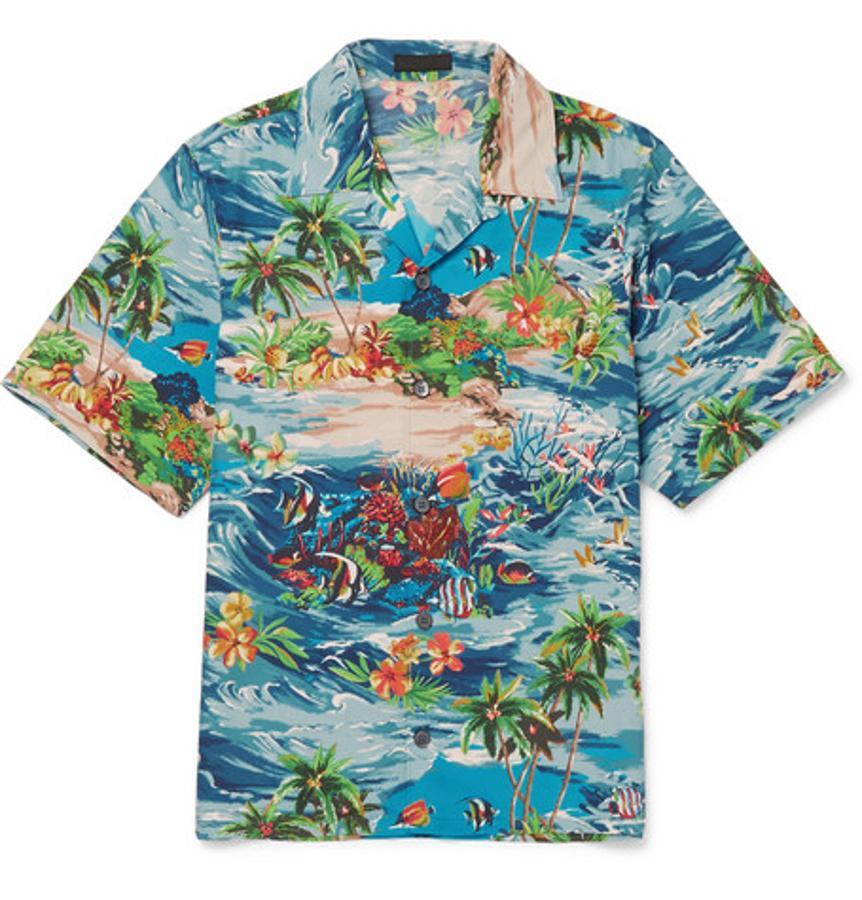 Camisa hawaiana de Prada