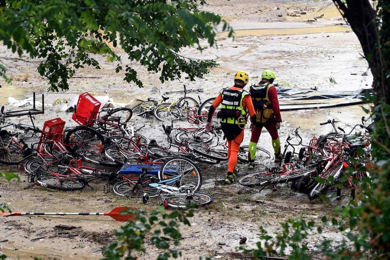 Actuación de los equipos de rescate