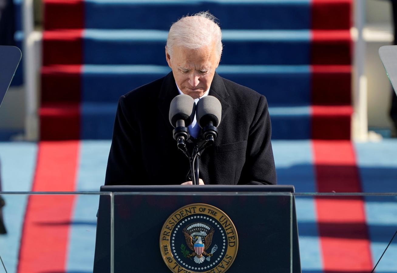 Biden da su primer discurso como nuevo presidente de Estados Unidos