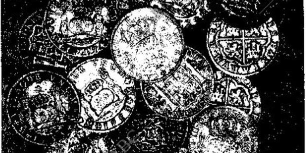 El hallazgo de los duros antiguos que tanto dieron que hablar en Cádiz - Archivo ABC
