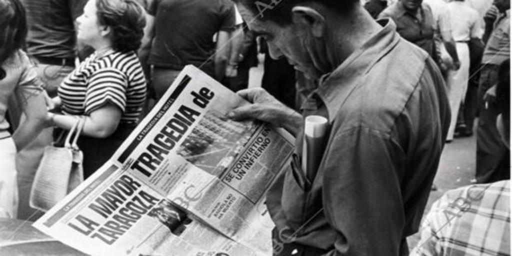 La masacre aún sin resolver de Zaragoza - Archivo ABC