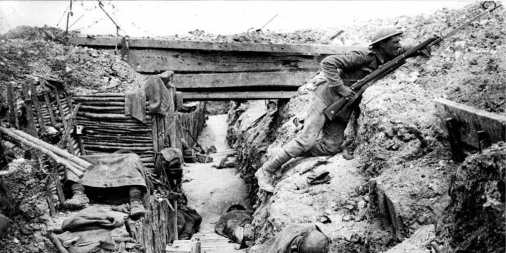 La batalla del Somme, la más cruel de la Primera Guerra Mundial - Archivo ABC