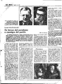 Artículo de 1981 sobre la huida de la URSS del hijo y el nieto de Shostakóvich