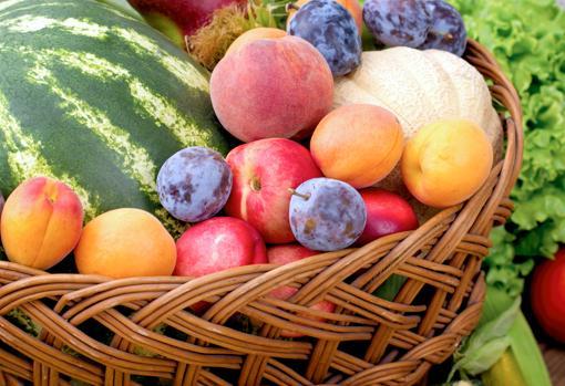 Es mejor separar las frutas de las verduras y las hortalizas.