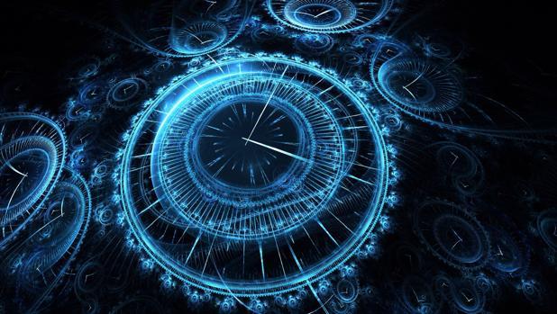 Los dos relojes atómicos medirían pequeños cambios en la frecuencia de un haz de láser enviado del uno al otro