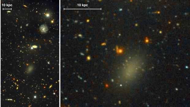 Descubren la «galaxia oscura»