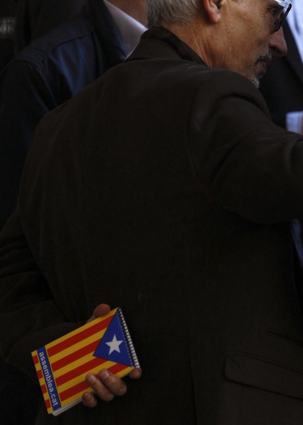 Vidal presentó su proyecto de Constitución Catalana en 2015