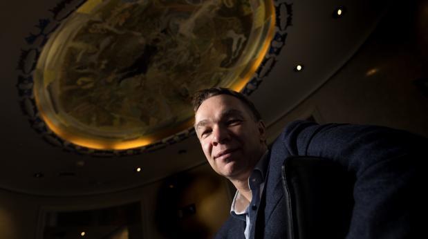 Michael Kramer en Madrid, la semana pasada, invitado por la Fundación BBVA