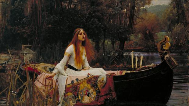 La dama de Shallot, de John William Waterhouse. La enfermedad fue fuente de inspiración para numerosas obras románticas