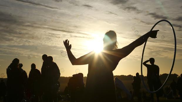 Celebración por el solsticio de verano