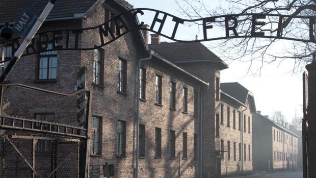 Entrada del campo de concentración de Auschwitz