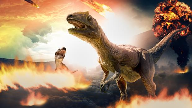 Los dinosaurios desaparecieron hace 66 millones de años por el impacto de un gran meteorito
