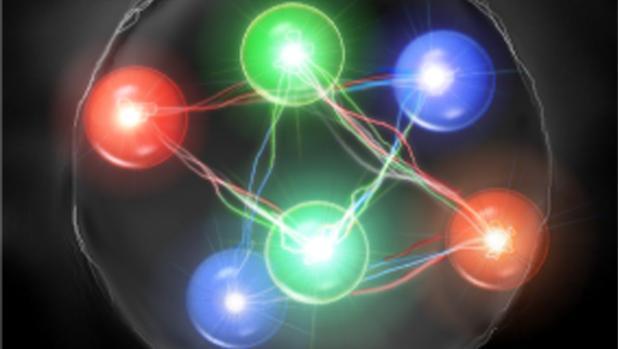Los físicos buscan sin descanso una hipotética partícula formada por seis quarks en vez de tres.