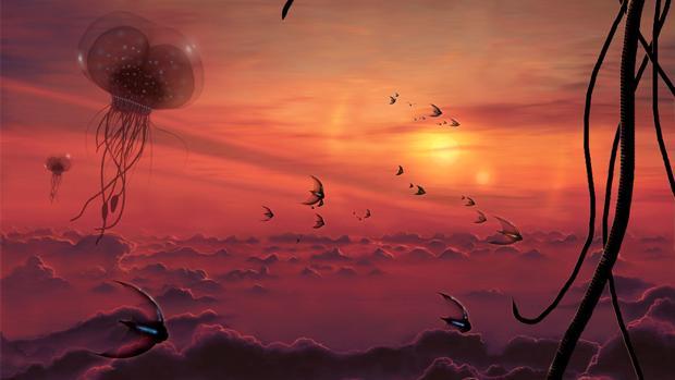 Algunos han llegado a proponer auténticos ecosistemas de criaturas flotantes en la atmósfera de Venus