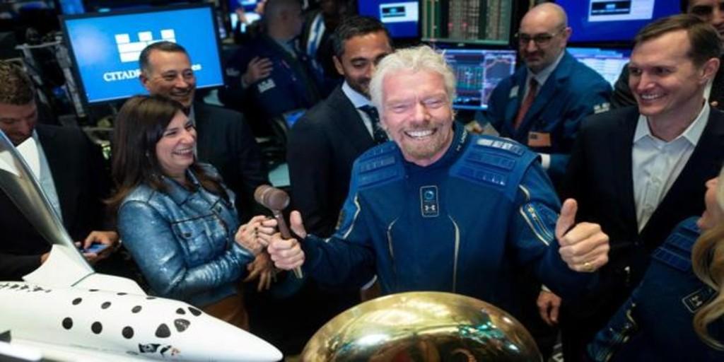 El magnate Richard Branson planea viajar al espacio el 11 de julio, antes que Jeff Bezos