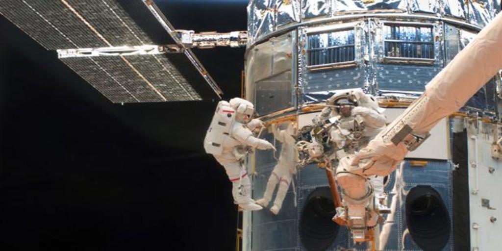 La NASA intenta hoy una arriesgada maniobra para salvar al Hubble