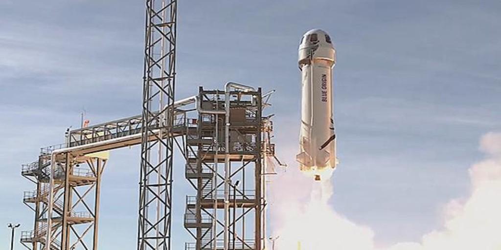 Sigue en directo el despegue de Jeff Bezos en la New Shepard, su propia nave para alcanzar el espacio