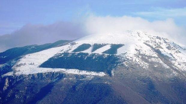 La palabra DUX, en el monte Giano