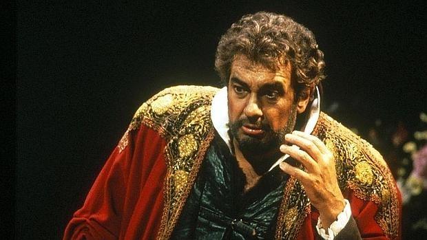 Plácido Domingo, como Otello en el Covent Garden de Londres