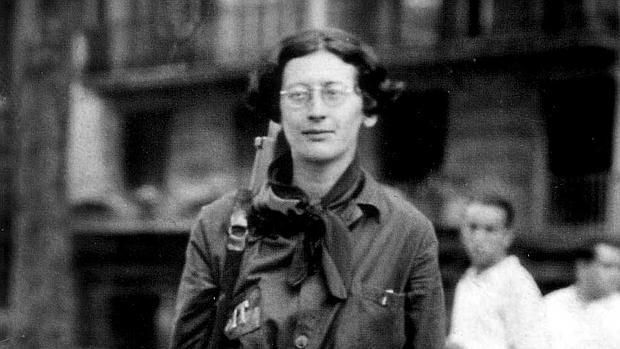 Simone Weil, en España en 1936