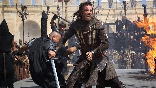 Michael Fassbender en la película «Assassin's Creed»