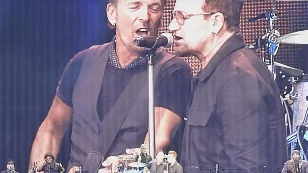 Spriingsteen y Bono