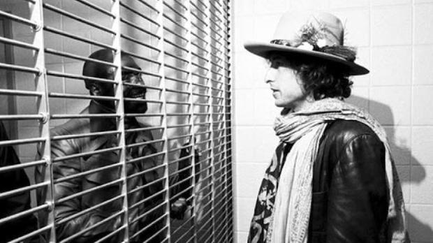 Bob Dylan visita a «Hurricane» Carter, al que dedicó una canción
