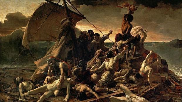 «La balsa de la medusa», de Géricault