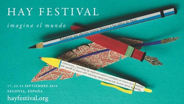 Cartel de la presente edición del Hay Festival