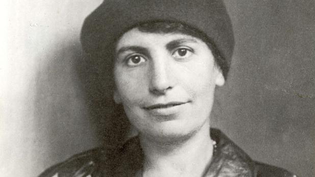 Anna Freud, fotografiada en 1928 por Florian Lierzer
