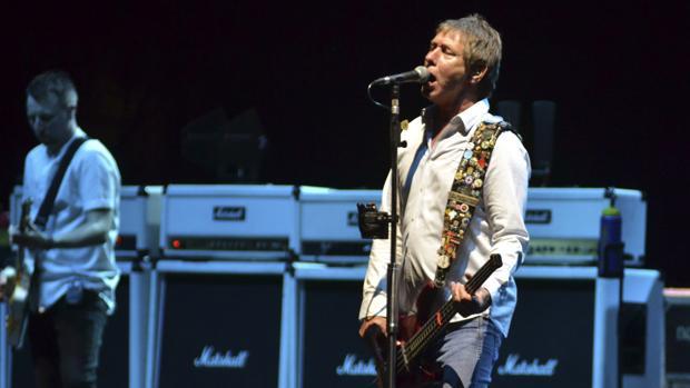 Status Quo, durante el concierto en Marbella