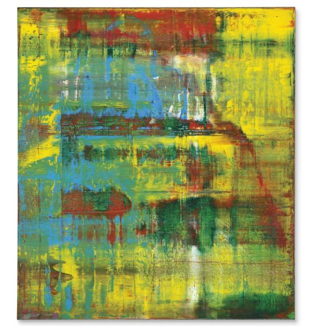 «Abstraktes Bild», de Gerhard Richter