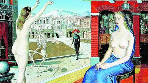 «La llamada» (1944), de Paul Delvaux