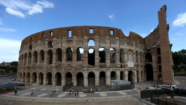 Vista general del Coliseo
