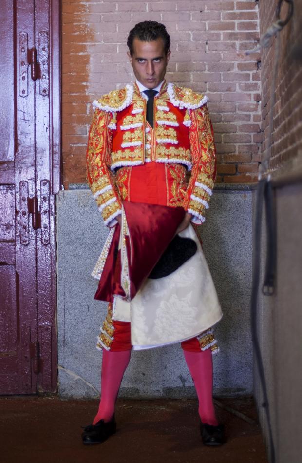 Iván Fandiño, en el patio de cuadrillas de Las Ventas