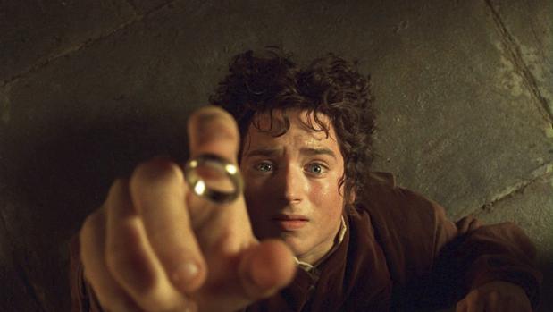 Elijah Wood, caracterizado como Frodo en la película «El señor de los anillos»