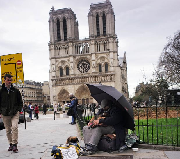 La catedral de Notre Dame, uno de los símbolos de París
