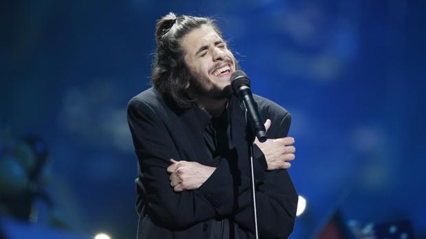 Salvador Sobral, durante su actuación en Eurovisión