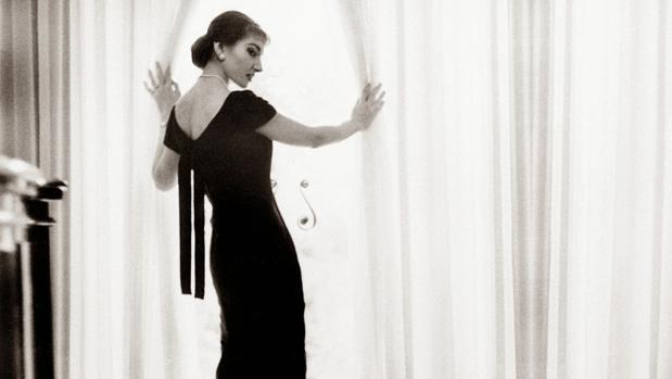 La soprano Maria Callas