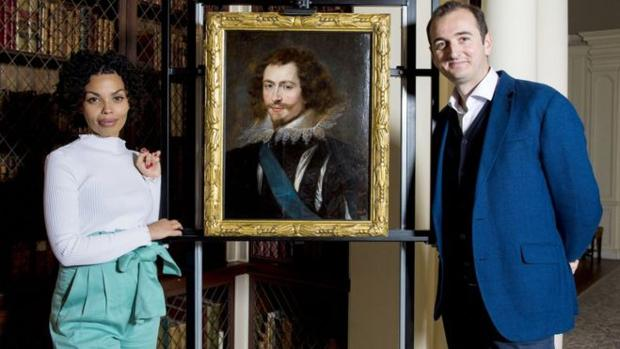 El retrato de Rubens encontrado