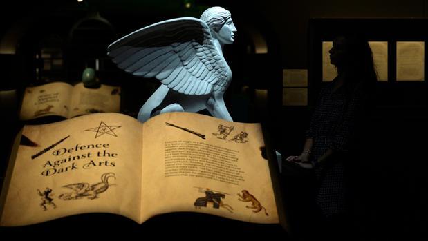 Una de las salas de la exposición «Harry Potter: una historia de magia»