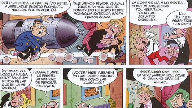 Mortadelo y Filemón se las ven con Mr. Trompf y Pxing Pxong en su nueva aventura Los a
