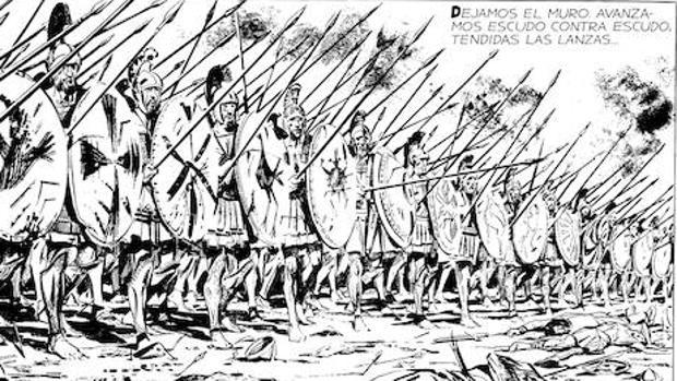 Los espartanos de Oesterheld y Breccia no tienen nada que envidiar a los de Frank Miller