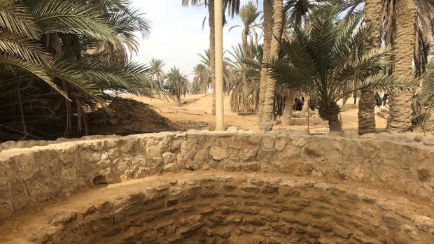 Una de las termas de Moisés ya restauradas