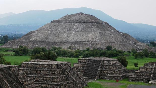 Teotihuacán, sitio arqueológico ubicado a las afueras de Ciudad de México