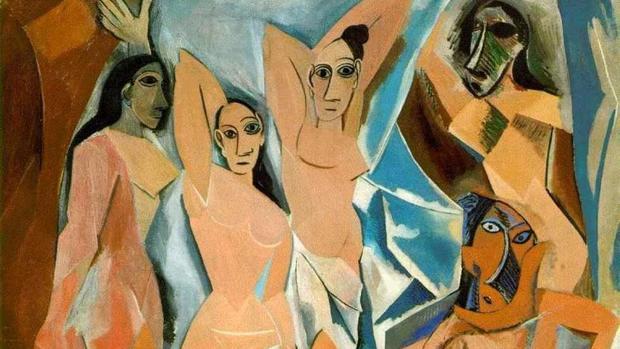 Detalle de «Las señoritas de Avignon»