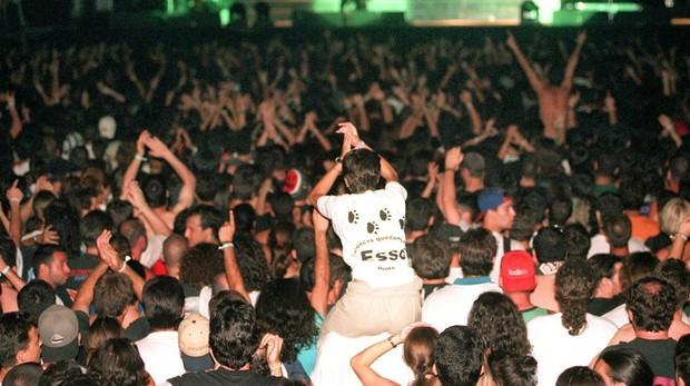 Imagen de archivo de un concierto de «heavy metal»
