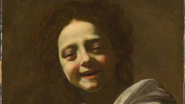 El cuadro «Retrato de niña con paloma», de Simón Vouet