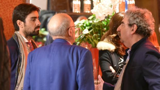 Miguel Ángel Perera conversa con Francis Wolff