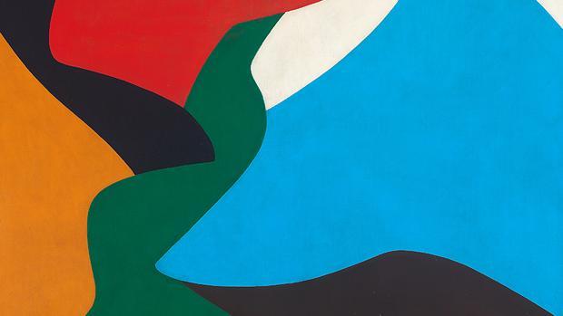«PA 1», óleo sobre lienzo de 1959